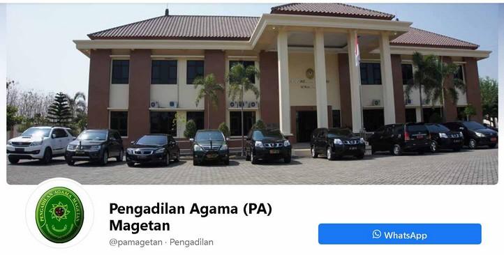 Halaman Facebook PA Magetan